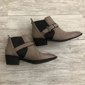 Circus by Sam Edelman Gray Ankle Booties